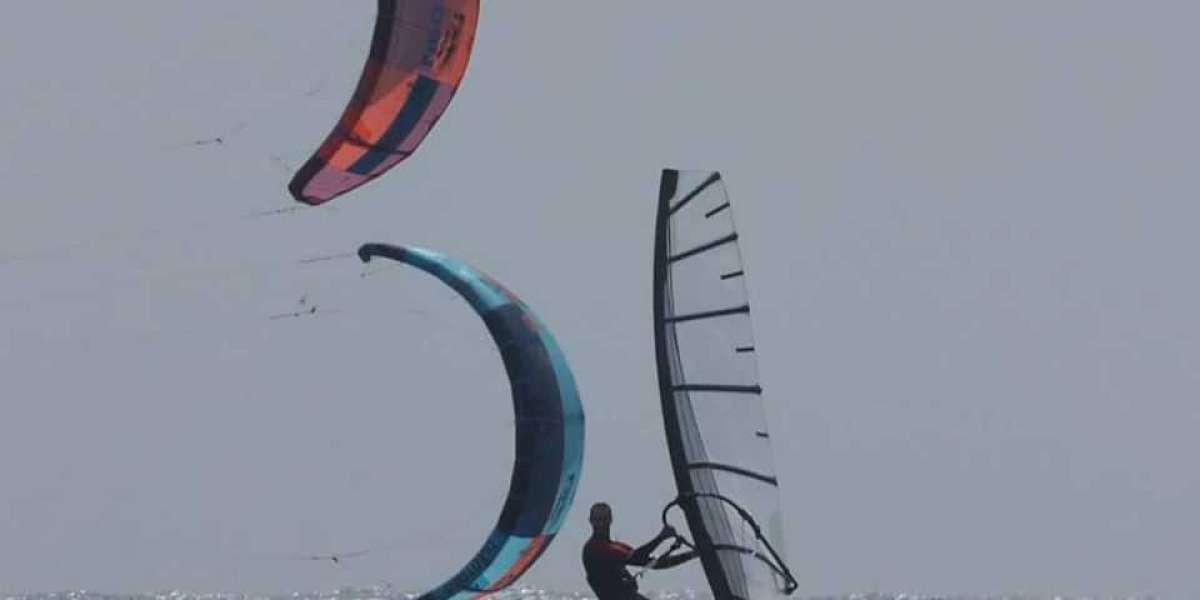 Kitefoil with Titanium Fuselage