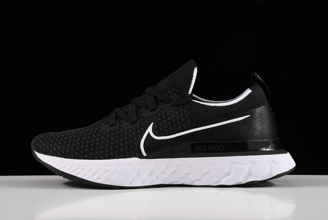Nike React Infinity Run Flyknit Black White Running Shoes CD4371-002 2020 For Sale Online