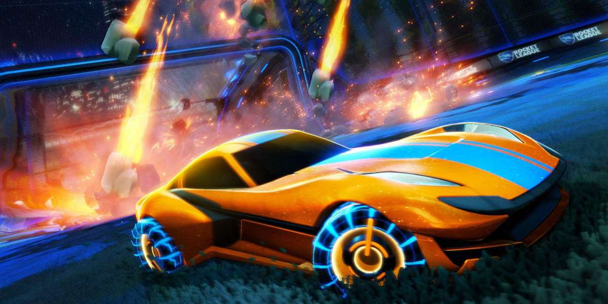 Rocket League with steady ongoing updates and a big number