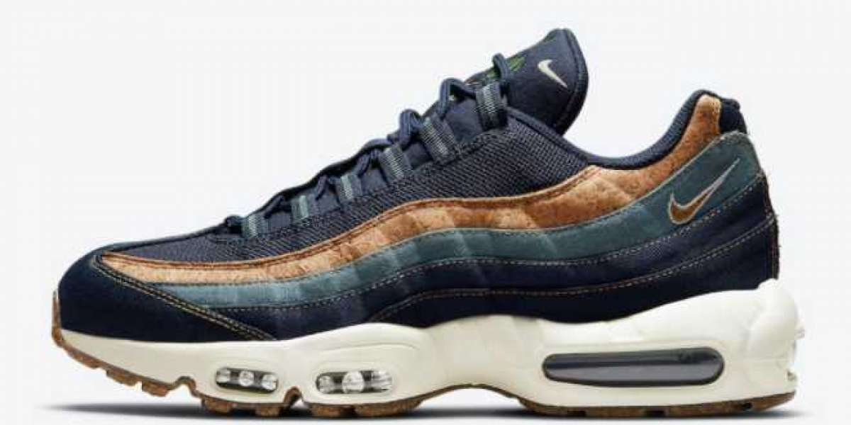 "Nike Air Max 95 ""Cork"" Obsidian DC3991-400 For Sale Online"