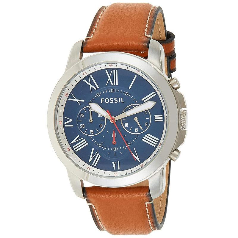 Buy Online FOSSIL FS5210 100% Authentic Wrist Watch For Men's | Flokoin
