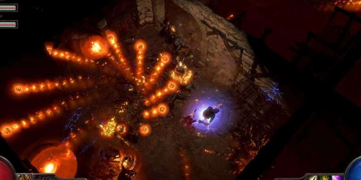 Players can get loot in the field of Path of Exile Expedition