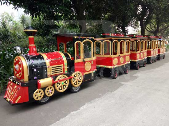 Amusement Park Train Rides for Sale - Trackless & Track Trains for 2021