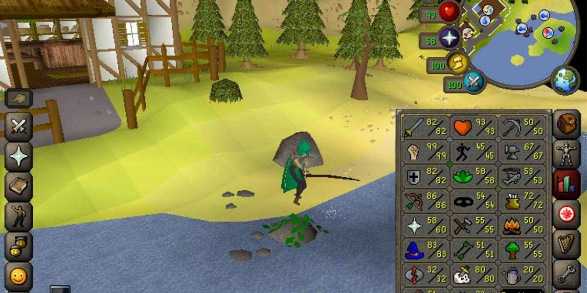 The Best Weapons of Runescape