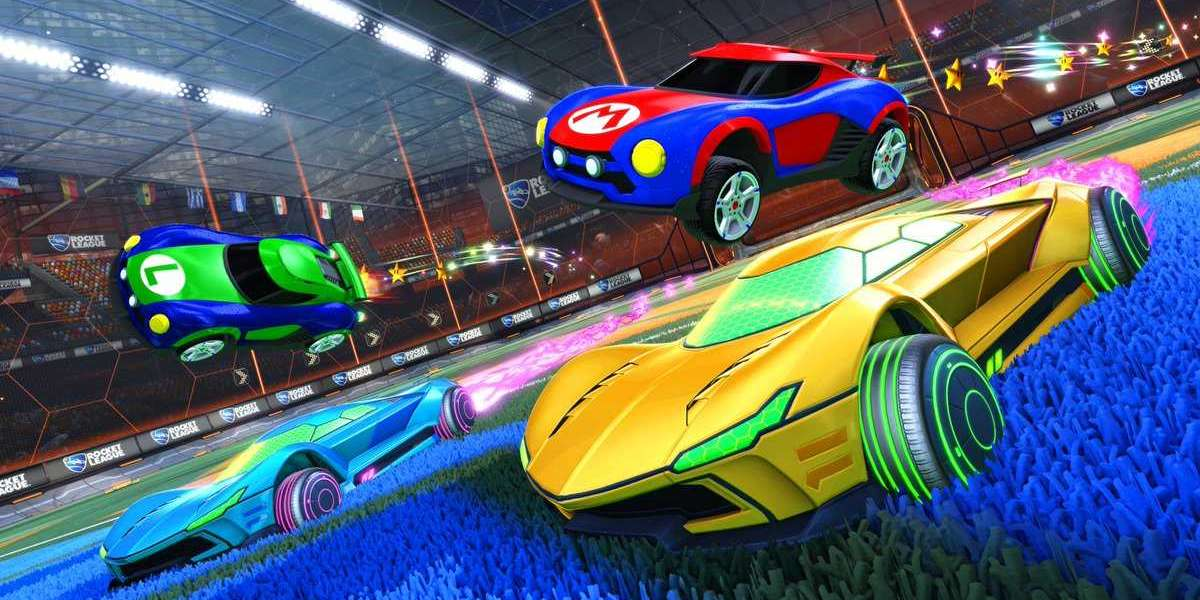 The items currently inside the Rocket League store may additionally