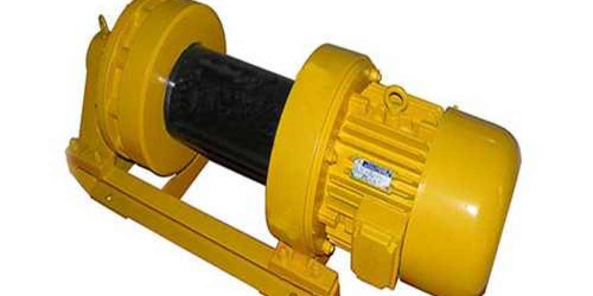 Electric Hoist Winch From Our Company